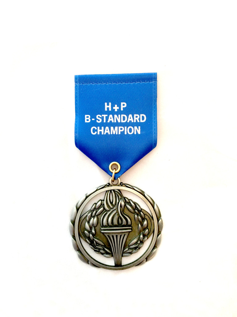 b standard medal copy