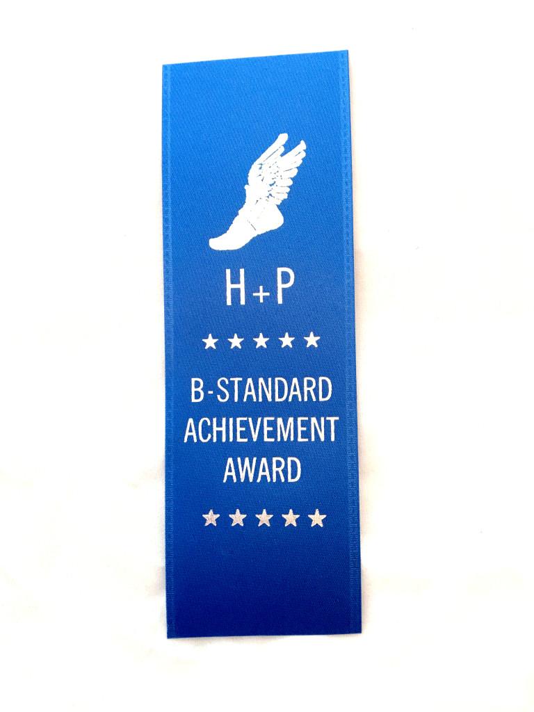 b standard ribon