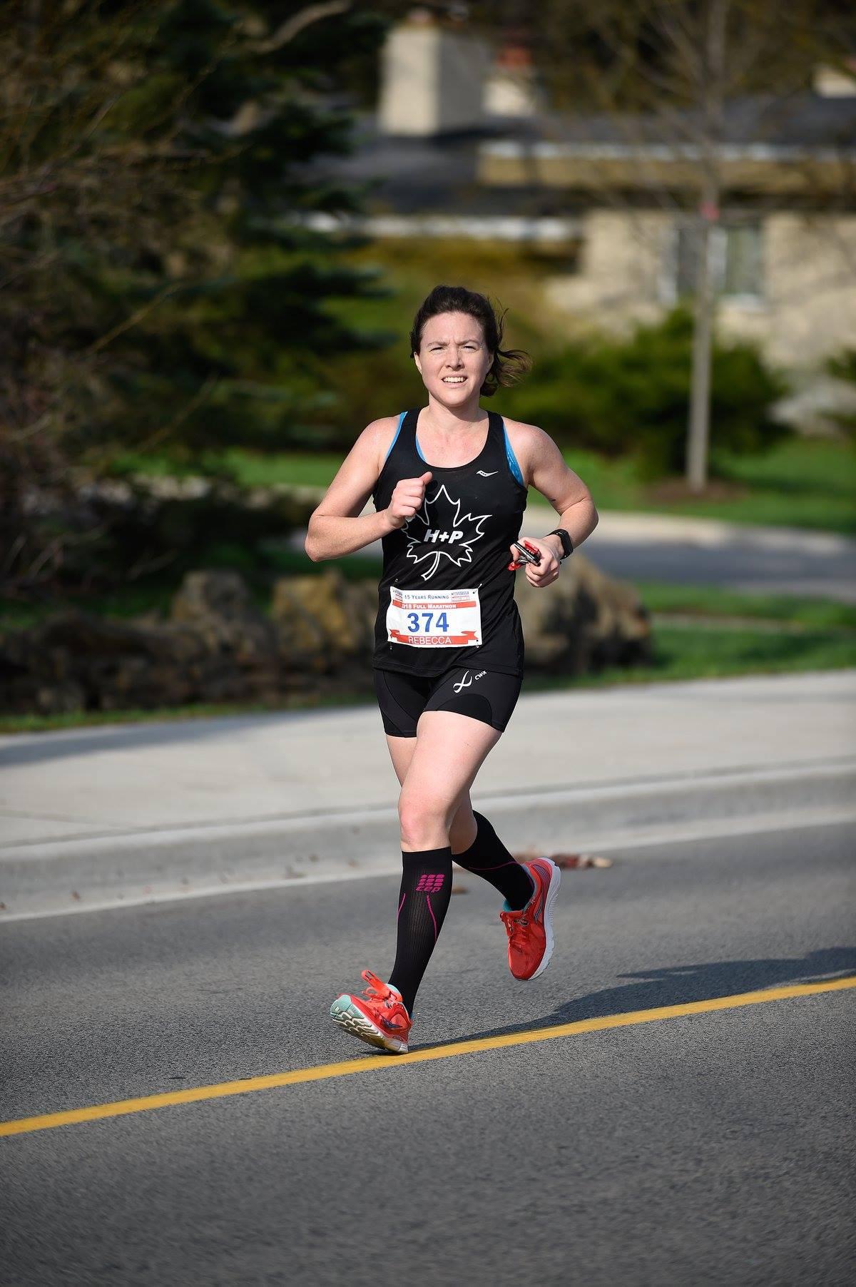 rebecca kruisselbrink mississauga marathon health and performance 2018