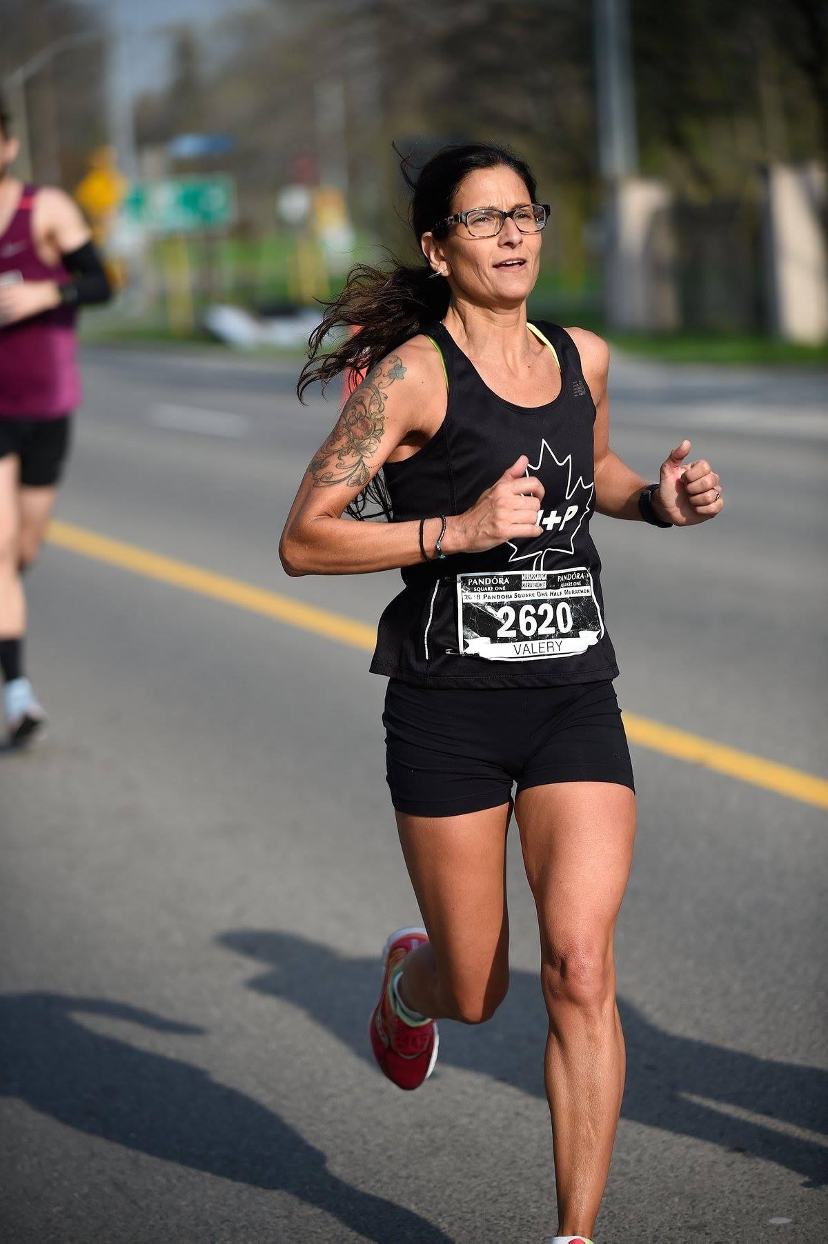 valery hobson mississauga marathon health and performance 2018